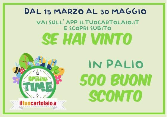 SPRING TIME - BUONI SCONTO